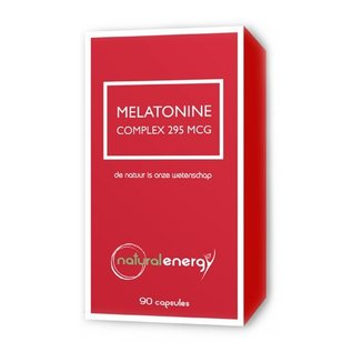 NATURAL ENERGY MELATONINE COMPLEX 295 MCG (90 CAPS)