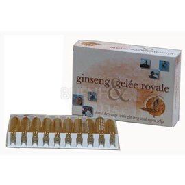 BIJENHOF BEE PRODUCTS GINSENG & KONINGINNENGELEI (20 AMPULLEN X 10 ML)