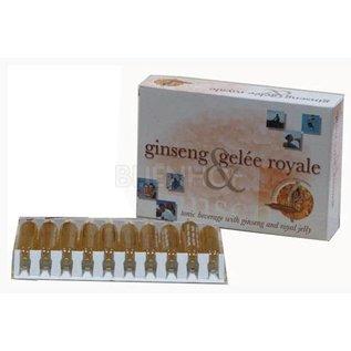 BIJENHOF BEE PRODUCTS GINSENG & KONINGINNENGELEI (20 AMPULLEN X 10 ML)