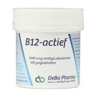 DEBA PHARMA HEALTH PRODUCTS VITAMINE B12 ACTIEF METHYLCOBALAMINE (100 ZUIGTABLETTEN)
