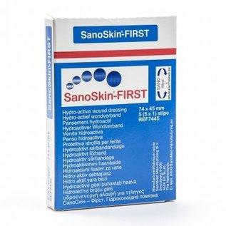 SANOSKIN SANOSKIN-FIRST HYDRO-ACTIEF WONDVERBAND (5 STUKS)