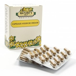 NATURE'S HELP WELLNESS NATURE'S HELP CAPSULES VOOR DE VROUW IN DE OVERGANG (60 CAPS)