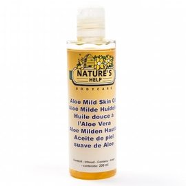 NATURE'S HELP WELLNESS NATURE'S HELP ALOE VERA HUILE DOUCE POUR LA PEAU (200 ML)