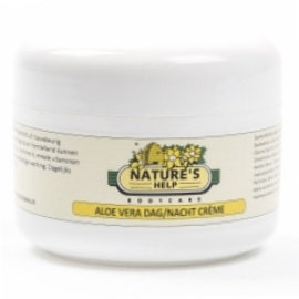 NATURE'S HELP WELLNESS NATURE'S HELP ALOË VERA DAG- EN NACHTCRÈME (100 ML)