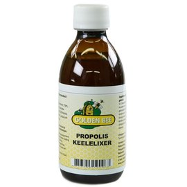GOLDEN BEE GOLDEN BEE ÉLIXIR DE PROPOLIS POUR LA GORGE & ANTITUSSIF (250 ML)