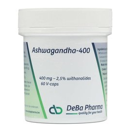 DEBA PHARMA HEALTH PRODUCTS ASHWAGANDHA 400 (60 CAPS)