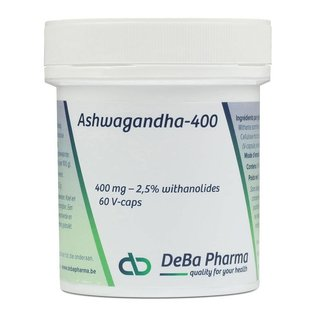 DEBA PHARMA ASHWAGANDHA 400 (60 CAPS)