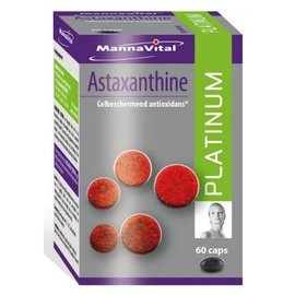 MANNAVITAL NATURAL PRODUCTS ASTAXANTHINE PLATINUM (60 V-CAPS)