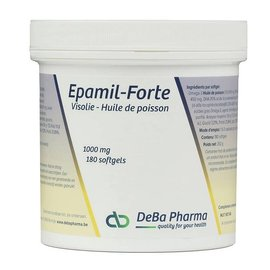 DEBA PHARMA HEALTH PRODUCTS EPAMIL FORTE VISOLIE OMEGA 3 (180 SOFTGELS)