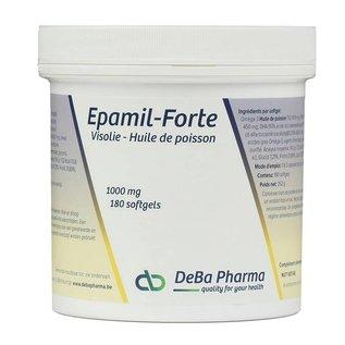 DEBA PHARMA HEALTH PRODUCTS EPAMIL FORTE HUILE DE POISSON OMÉGA 3 (180 SOFTGELS)
