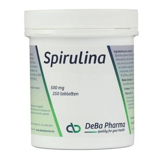 DEBA PHARMA HEALTH PRODUCTS SPIRULINA (250 TABLETTEN)