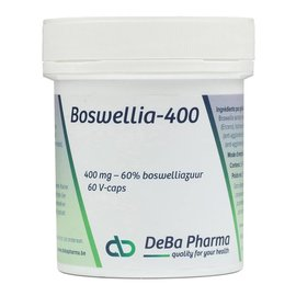 DEBA PHARMA HEALTH PRODUCTS BOSWELLIA 400 (60 V-CAPS)