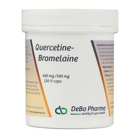 DEBA PHARMA HEALTH PRODUCTS QUERCETINE-BROMELAINE (120 V-CAPS)