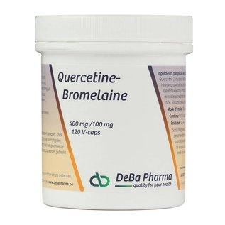 DEBA PHARMA HEALTH PRODUCTS QUERCETINE-BROMELAINE (120 V-CAPS)