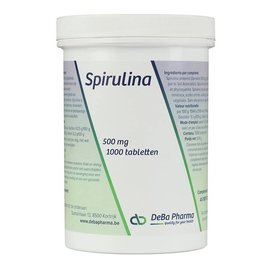 DEBA PHARMA HEALTH PRODUCTS SPIRULINE (1 000 COMPRIMÉS)