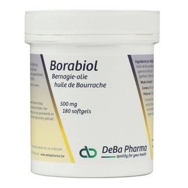 DEBA PHARMA HEALTH PRODUCTS BORABIOL HUILE DE BOURRACHE (180 V-CAPS)