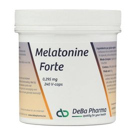 DEBA PHARMA HEALTH PRODUCTS MELATONINE FORTE (240 V-CAPS)