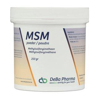 DEBA PHARMA HEALTH PRODUCTS MSM POEDER (250 G)