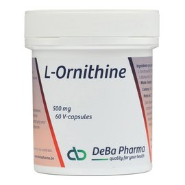 DEBA PHARMA HEALTH PRODUCTS L-ORNITHINE (60 V-CAPS)