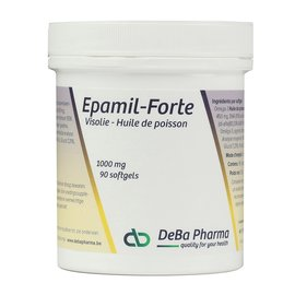 DEBA PHARMA HEALTH PRODUCTS EPAMIL FORTE HUILE DE POISSON OMÉGA 3 (90 SOFTGELS)