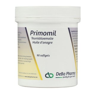 DEBA PHARMA HEALTH PRODUCTS PRIMOMIL TEUNISBLOEMOLIE OMEGA 6 (90 SOFTGELS)