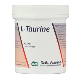 DEBA PHARMA HEALTH PRODUCTS L-TAURINE (100 V-CAPS)
