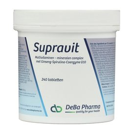 DEBA PHARMA HEALTH PRODUCTS SUPRAVIT (240 COMPRIMÉS)