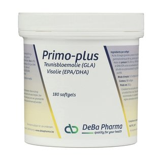 DEBA PHARMA PRIMO PLUS OMEGA 3-6 (180 SOFTGELS)