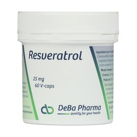 DEBA PHARMA HEALTH PRODUCTS RESVERATROL (60 V-CAPS)