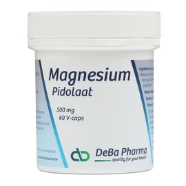 DEBA PHARMA HEALTH PRODUCTS MAGNESIUMPIDOLAAT (60 V-CAPS)