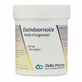 DEBA PHARMA HEALTH PRODUCTS HUILE D'ARGOUSIER OMÉGA 7 (180 SOFTGELS)