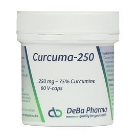 DEBA PHARMA HEALTH PRODUCTS CURCUMA 250 (60 V-CAPS)