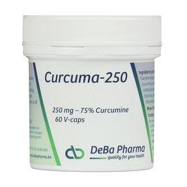 DEBA PHARMA HEALTH PRODUCTS CURCUMA 250 (60 V-CAPS)