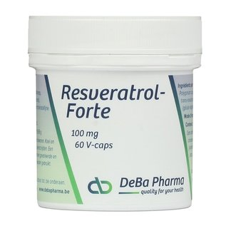 DEBA PHARMA HEALTH PRODUCTS RESVERATROL FORTE (60 V-CAPS)