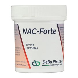 DEBA PHARMA HEALTH PRODUCTS NAC FORTE (60 V-CAPS)