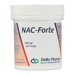 DEBA PHARMA HEALTH PRODUCTS NAC FORTE (60 V-CAPS)