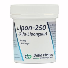 DEBA PHARMA HEALTH PRODUCTS LIPON 250 (60 V-CAPS)