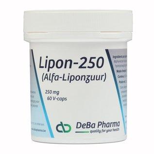DEBA PHARMA HEALTH PRODUCTS LIPON 250 (60 V-CAPS)