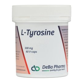 DEBA PHARMA HEALTH PRODUCTS L-TYROSINE (60 V-CAPS)