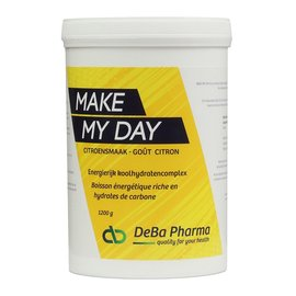 DEBA PHARMA HEALTH PRODUCTS MAKE MY DAY CITRON COMPLEXE GLUCIDIQUE (1 200 G)