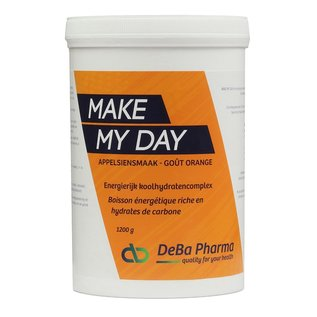 DEBA PHARMA HEALTH PRODUCTS MAKE MY DAY ORANGE COMPLEXE GLUCIDIQUE (1 200 G)