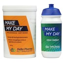 DEBA PHARMA MAKE MY DAY ORANGE KOOLHYDRATENCOMPLEX (1 200 G) + TACX DRINKBUS