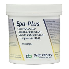 DEBA PHARMA EPA PLUS OMEGA 3-6-9 (180 SOFTGELS)