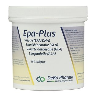 DEBA PHARMA HEALTH PRODUCTS EPA PLUS OMEGA 3-6-9 (180 SOFTGELS)