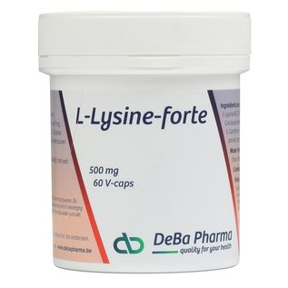 DEBA PHARMA L-LYSINE FORTE (60 V-CAPS)