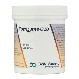 DEBA PHARMA HEALTH PRODUCTS COENZYME Q10 (180 SOFTGELS)