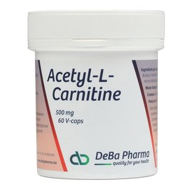 DEBA PHARMA HEALTH PRODUCTS ACÉTYL-L-CARNITINE (60 V-CAPS)