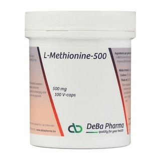 DEBA PHARMA L-METHIONINE 500 (100 V-CAPS)