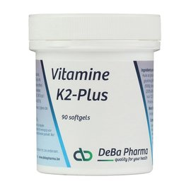 DEBA PHARMA HEALTH PRODUCTS VITAMINE K2 PLUS (90 SOFTGELS)