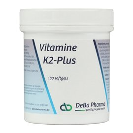 DEBA PHARMA HEALTH PRODUCTS VITAMINE K2 PLUS (180 SOFTGELS)